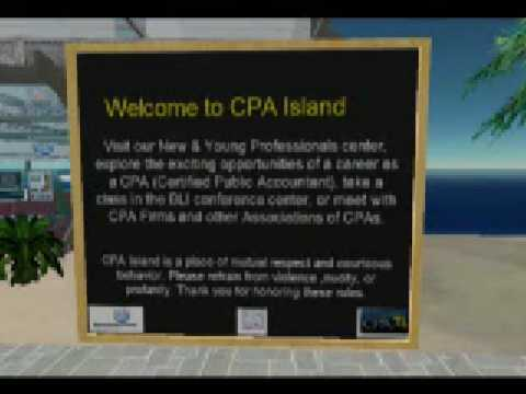 CPA Island in Second Life