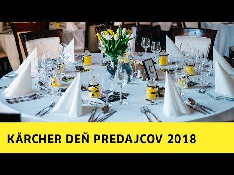 KÄRCHER Deň Predajcov 2018