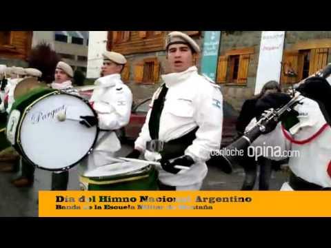 Día del Himno Nacional Argentino  Banda de la Escuela Militar de Montaña