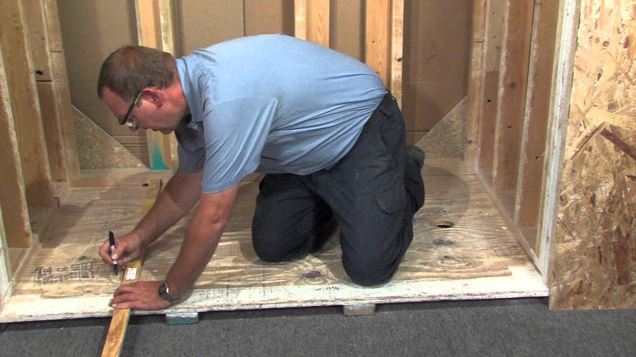 Lyons Nested Tub Installation - YouTube