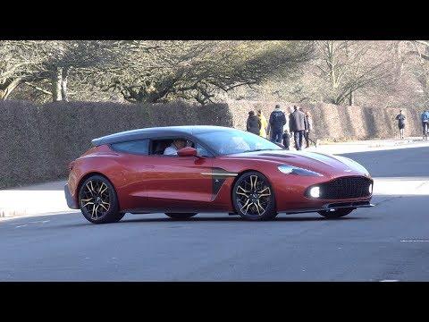 Aston Martin Vanquish Zagato Shooting Brake on the Road!!
