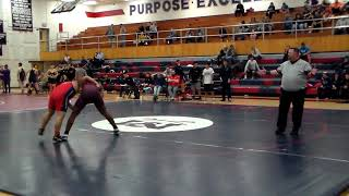 Quincy Singleton vs Independence (220lbs)