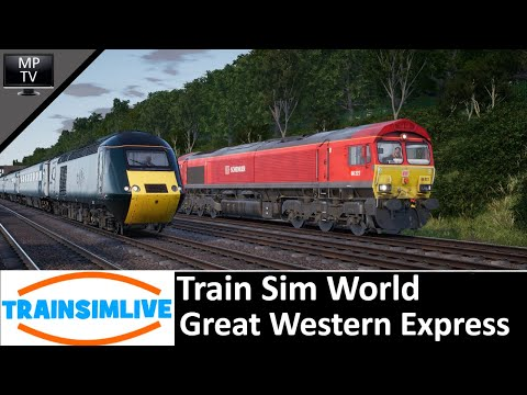 Train Sim World - Great Western Express preview!
