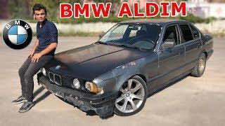 3000TL'ye ARABA ALDIM   BMW 520i E34 (GERÇEK)