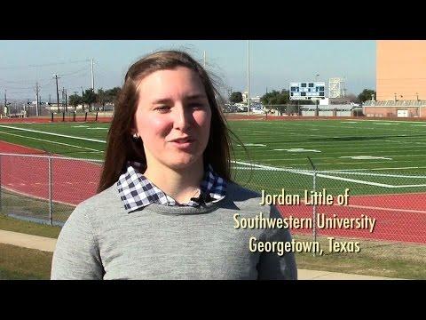 Jordan Little on Southwestern University