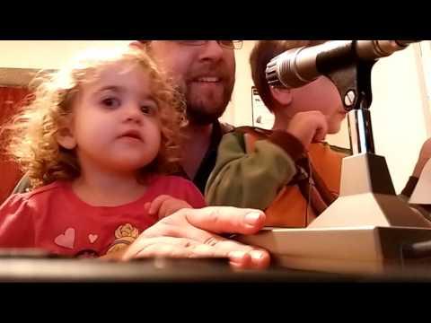 Kids talk to Santa on the radio