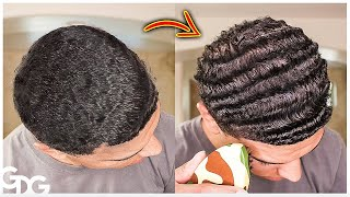Turning Straight Hair Into Waves