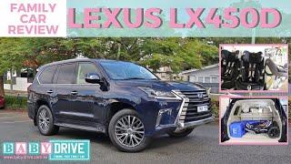 Family car review: Lexus LX450d 2018