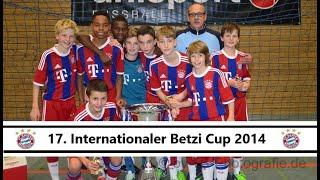 FC Bayern München Turniersieger beim U12 Betzi Cup 2014 2. Rapid Wien 3. Bayer Leverkusen U 10 11 13