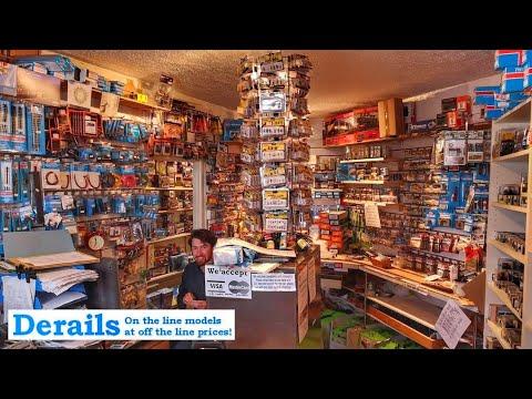 Derails Models - Model Shop Tour 2019 - Coleford - Gloucestershire