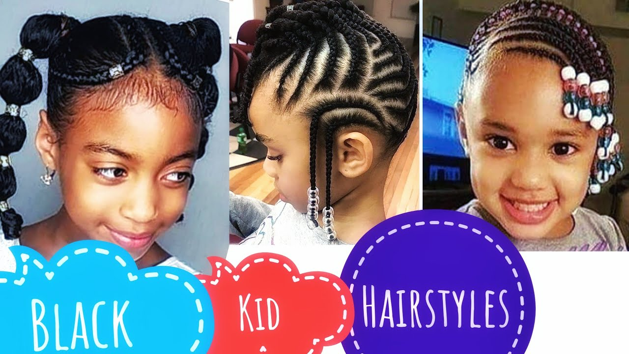 Cute Easy Black Girls Hairstyle Quick And Beginner Friendly Youtube