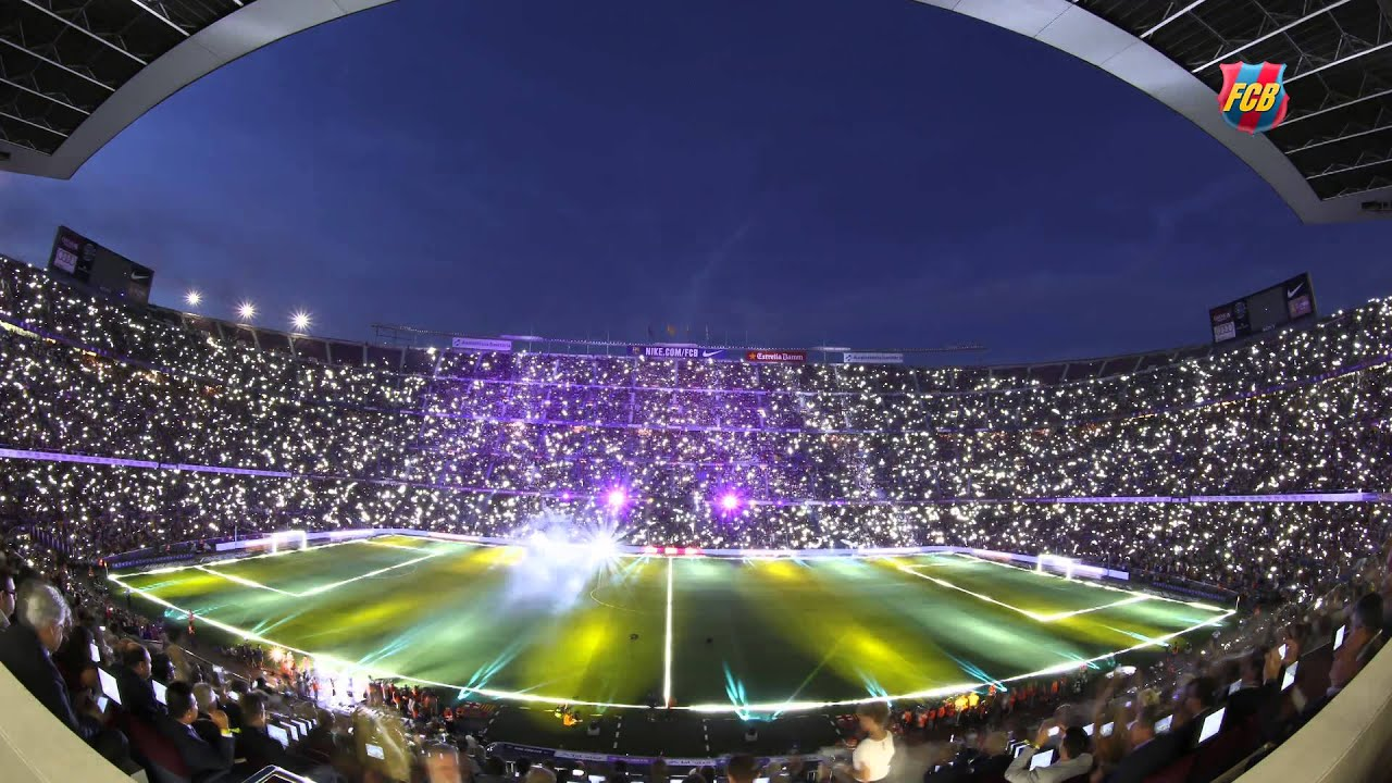 Camp nou timelapse la festa del gamper youtube - Camp nou 4k wallpaper ...
