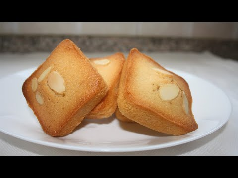 Financiers/ French Almond cakes/ French Financiers/ French Almond cookies