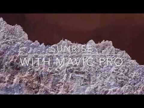 Sunrise with the Mavic Pro