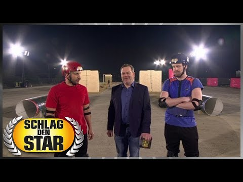 Spiel 6 - Hindernisrennen - Schlag den Star