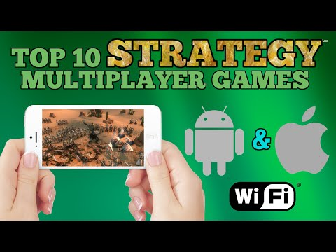 Top 10 Strategy multiplayer games for Android/iOS via WiFi ONLINE