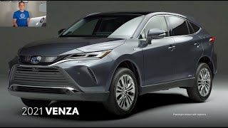 Is the 2021 Toyota Venza going to be SUV of the YEAR?