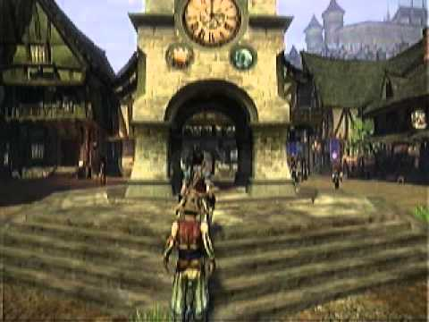 Fable 2 xbox 360 gameplay part 1