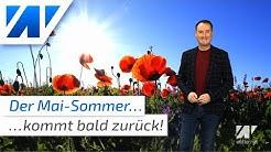 Schnee und Kälte im Mai! Wann kommt der Mai-Sommer wieder? Misst die Wetterstation Lingen falsch?