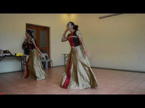Thudakkam Mangalyam dance by Sneha and Taniya