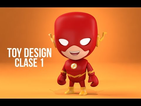 FLASH TOY DESIGN EN ZBRUSH Y MODO CLASE 1