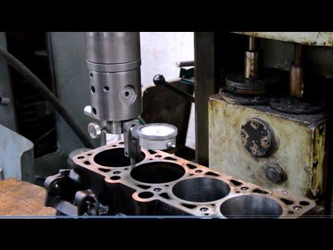 Гильзовка блока цилиндров.Украина/BLOCK machining,cylinders replacement# Engine rebuild Ukraine