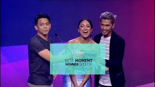 "AMI AWARDS 2018 ""BEST MOMENT WINNER SPEECH"