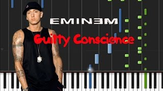 Eminem - Guilty Conscience [Piano Tutorial] (♫)