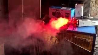 Nebelmaschine Flash FLZ-2000 LED DMX von eBay erster Test