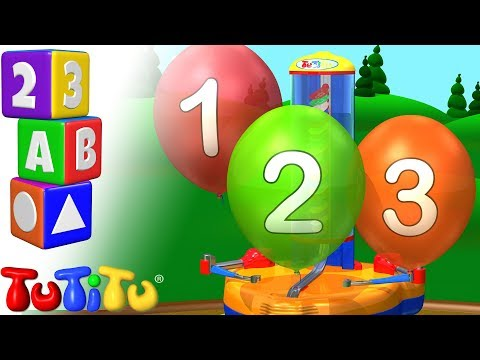 Balloon Machine – Learning Numbers for Babies and Toddlers | TuTiTu Preschool
