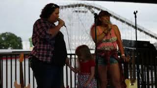 Christina, Gracie and Paula; No One Else On Earth [Karaoke]