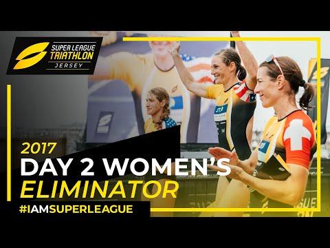 Super League Jersey: FULL Women's Race Day 2 Eliminator