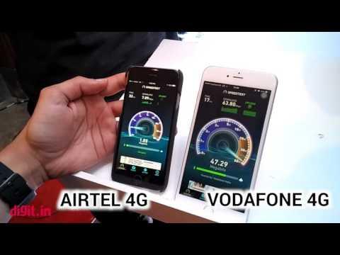 Airtel 4G vs Vodafone 4G