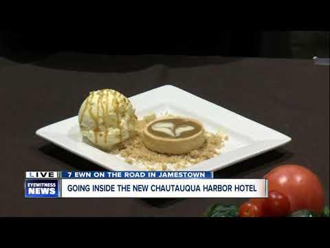 Delicious food at the Chautauqua Harbor Hotel