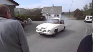Prøvekjøring av Troll på Rogaland Bilmuseum