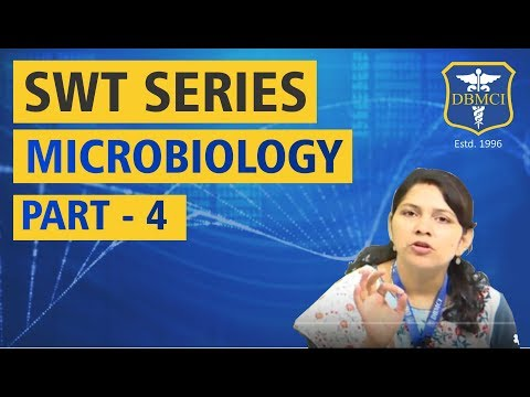 SUBJECT WISE TEST SERIES - MICROBIOLOGY - PART - 4