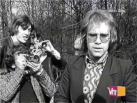 Elton John - Your Song (Promo Video 1971) HD