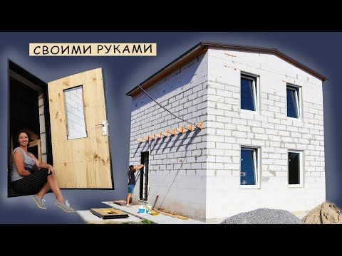 ⚫HOW to make the BEST WARM the DOOR with His Hands. HOW to build a CHEAP House? #14