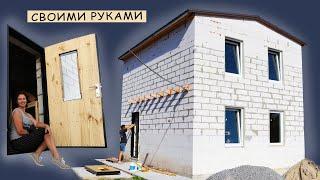 як вдома зробити двері дерев'яну