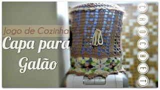 JOGO DE COZINHA -CAPA PARA GALÃO /DIANE GONÇALVES