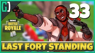[33] Last Fort Standing (Let's Play Fortnite: Battle Royale w/ GaLm and friends)