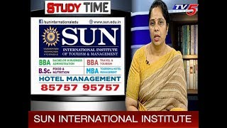 Advantages Of Hotel Management Courses In Sun International Institute | Study Time | TV5 News