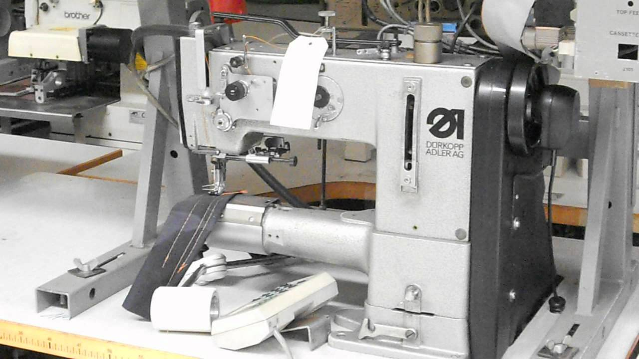 Pastori srl durkopp adler 269 rasafilo triplice trasporto for Macchine da cucire usate
