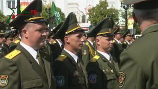 Борисов. Выпуск в школе прапорщиков