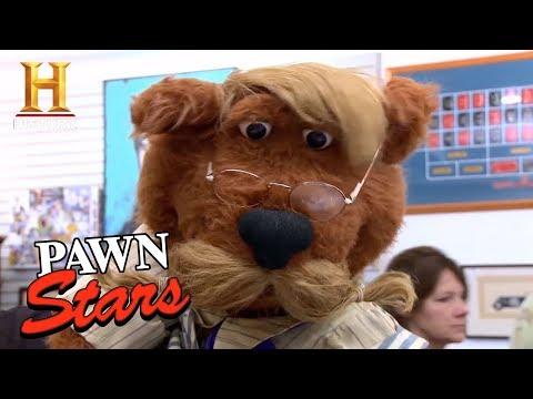 Pawn Stars: Jim Henson Creature Shop Puppet (Season 8) | History