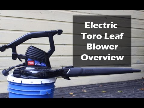 Toro Super Electric Blower Vacuum Review YouTube