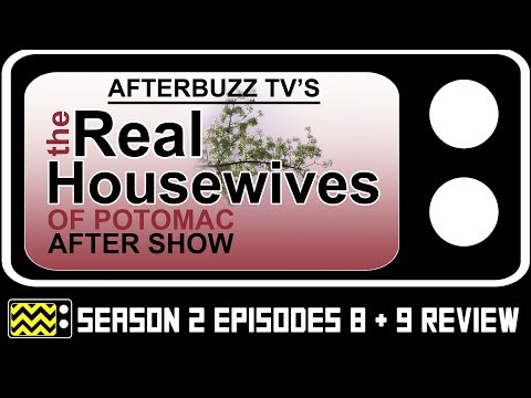 The Real Housewives of Potomac Season 2 Episode 8 & 9 Review & AfterShow | AfterBuzz TV