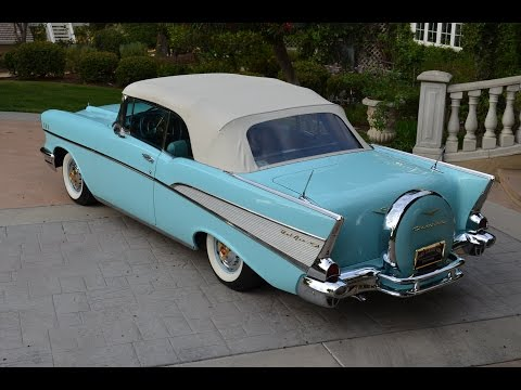 1957 Chevy Bel Air Conv, Fully Restored, Dual Quads, Gorgeous, FOR SALE!