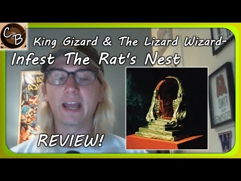 [CROSS BEAT] King Gizzard And The Lizard Wizard- Infest The Rat's Nest REVIEW!