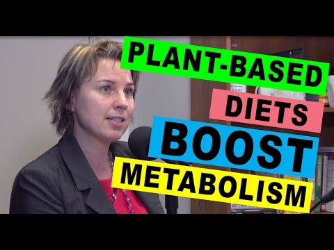 Plant-Based Diets Boost Metabolism